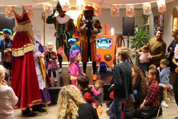 Sinterklaas bij Accent Receptieservices